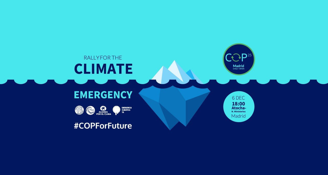 Rally For The Climate 2019 #COPForTheFuture