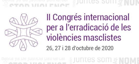 II Congrés Internacional per a l'Erradicació de les Violències Masclistes
