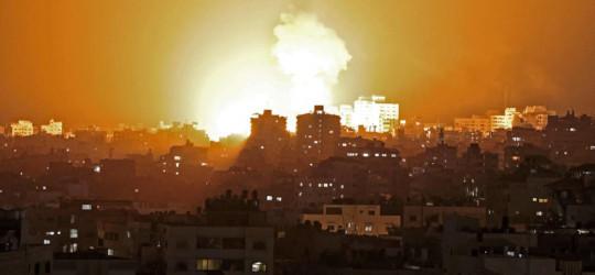 Bombardeig sobre Gaza, Maig 2021